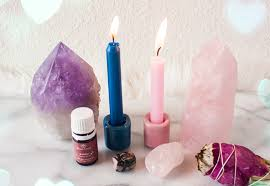 LOVE SPELL WITH PINK CANDLE