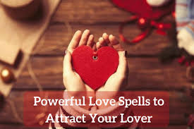 LOVE SPELL CHARMS TO ATTRACT A LOVER