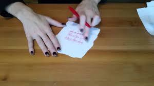 LOVE SPELL WITH PAPER AND PEN