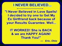 LOVE SPELL THAT TRULY WORKS