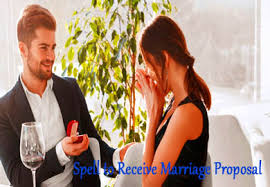 SPELL FOR A MARRIAGE PROPOSAL